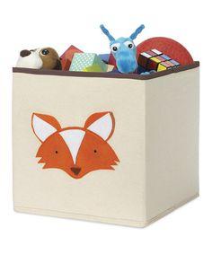 Look at this #zulilyfind! Fox Storage Cube #zulilyfinds