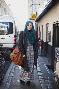 She's cute! #hijab