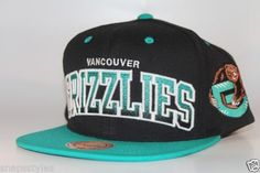 low cost c48f6 2c017 Mitchell-and-Ness-Vancouver-Grizzlies-Arch-Gradient-Snapback-Hat