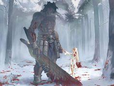 Illyasviel von Einzbern,Ilya,Berserker,Heracles - Fate/Stay Night