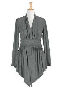 Womens fashion design - Embellished Tops - Shop for Embellished Tops, Women's Long Sleeve Tops -   eShakti.com