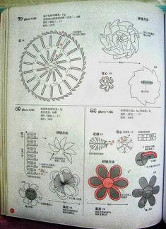 Цветы крючком схемы вязания - Handmade-Paradise