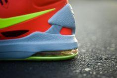 Nike KD 5 Bright Crimson Maryland