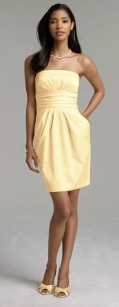 Canary Yellow Dress On sale for $79 Available in all sizes!!