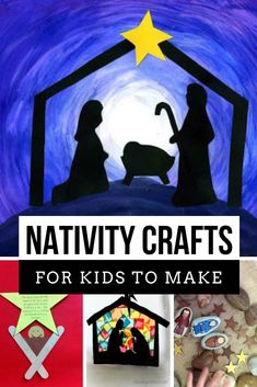 Tot School Ideas: Nativity Crafts and Activities for Toddlers and Preschoolers Christian Christmas Crafts, Christmas Art Projects, Christmas Crafts For Kids To Make, Preschool Christmas, Kids Christmas, Christmas Nativity, Merry Christmas, Bible School Crafts, Sunday School Crafts