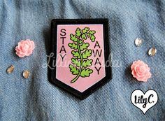 Stay Away Protection Patch