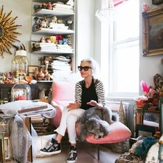 Linda Rodin's beauty motto: get out the door ASAP, spend 15 minutes getting ready