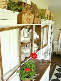 "I added ""Wicker-White-Wood-Kitchen Reveal"" to an #inlinkz linkup!http://thecountryfarmhome.blogspot.com/2014/04/white-wicker-wood.html"