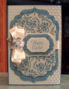 Easter Card Stampin Up More Great Greetings by WhimsyArtCards,