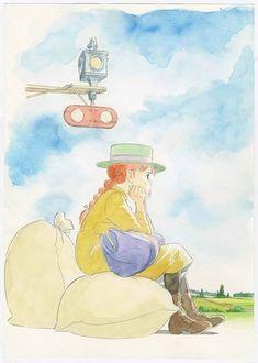 Exhibition dedicated to Yoshifumi Kondo in Niigata Bandaijima Art Museum (July to August Studio Ghibli Art, Studio Ghibli Movies, Totoro, Yoshifumi Kondo, Manga Art, Anime Art, Le Vent Se Leve, Illustration Noel, Anne With An E
