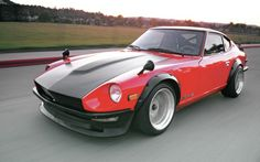 01 1973 Datsun 240Z Beta Motorsports Carbon Fiber Hood
