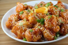 Sesame-Orange Chicken