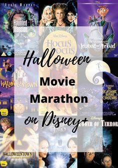 Halloween Movie Marathon on Disney+