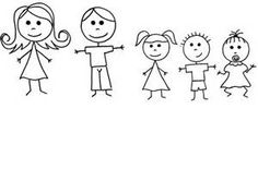 Stick Figure People Clip Art - Bing Images