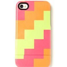 neon iphone case