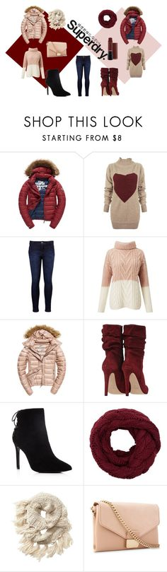 """The Cover Up – Jackets by Superdry: Contest Entry"" by adrianwilliams-i ❤ liked on Polyvore featuring Superdry, Fuji, Vivienne Westwood Anglomania, Levi's, Miss Selfridge, Charles David, Athleta and Whistles"