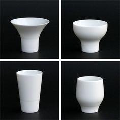 Mino Yaki KANEKO KOHYO POTTERY mini IKKONHAI 4 pcs Four Sake cups to enjoy Sake flavor, can buy direct from Japan.