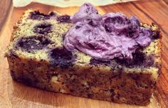 Lemon and Blueberry Bread #MummyMadeIt​