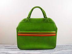 Vintage Green Ventura Overnight Bag