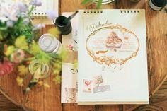 好日推好物:Fion 2014「認真也做夢組合禮」,含巴黎小不點年曆、自由筆記本(藍色)、巴黎古董雜貨小海報年曆 - fion stewart   Pinkoi