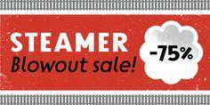 Steamer - Webfont & Desktop font « MyFonts http://www.myfonts.com/fonts/erik-bertell/steamer/#  All 10 normally $149. ~ SALE: $37.49