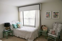 All Things Big and Small: DIY Nursery Curtains with Pelmet Box