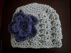 crochet hat...cute!!
