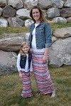 Maxi Skirt Mommy - Red/Blue/White Aztec only $9.99 for girls and $14.99 for mommy. at www.gabskia.com also like us on facebook  https://www.facebook.com/gabskiaccessories