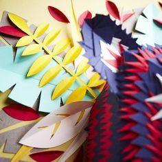 mascara papel detalhes tigre