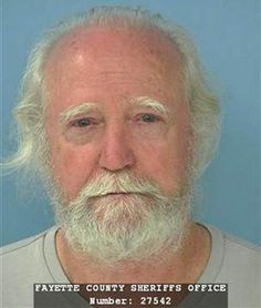 "Sounds like The Walking Dead's Scott Wilson (Hershel Greene) is a method actor. When he was pulled over, Wilson failed the field sobriety tests, complaining the roadway was ""slanted"" and asking if he could instead perform some ""yoga moves. Walking Dead Actors, Walking Dead Tv Series, Walking Dead Memes, The Walking Dead Tv, Funny Mugshots, Walker Zombie, Tommy Cooper, Celebrity Mugshots, Scott Wilson"