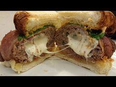Bacon Ranch Turkey Cheese Burger Sliders - YouTube