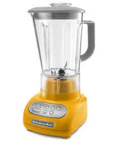 KitchenAid Yellow Pepper Blender, $130 (want it)