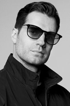 Henry Cavill photographed by Paul Wetherell for Hugo Boss Eyewear 2018 Campaign.