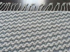 Woven rug by Leppävaaran kutojat -Leppavaara Weavers
