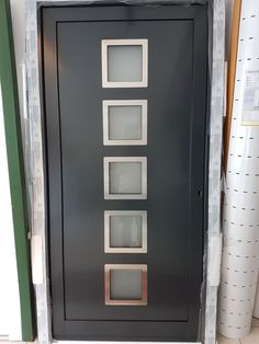 Inspirational G nstige Haust ren im Abverkauf Aluhaust r entrydoor Hausbau entrance entrydoor