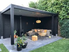 In create outdoor backyard design, you must first determine its function, as a park, a hangout, a playground or as a place to reflect. Patio Garden Ideas On A Budget, Budget Patio, Backyard Patio Designs, Outdoor Pergola, Outdoor Rooms, Patio Ideas, Pergola Kits, Pergola Plans, Pergola Roof
