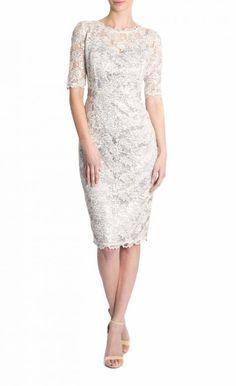 Anthea crawford lush lace dress