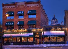 Cossetta's  Italian Restaurant and Market  Saint Paul, MN
