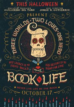 New York-based hand-lettering genius Jon Contino created the radiant folk-art design for 'The Book of Life' Graphic Design Tips, Graphic Design Inspiration, Mexican Graphic Design, Design Web, Type Design, Creative Inspiration, Design Elements, Life Poster, Mexican Designs