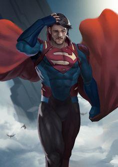 Batman Vs Superman, Superman Cosplay, Superman Artwork, Dc Comics Heroes, Dc Comics Art, Marvel Dc Comics, Marvel And Dc Characters, Superhero Characters, Batman Returns
