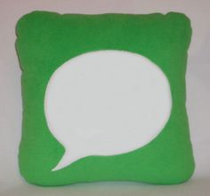 Items similar to Message Pillow on Etsy