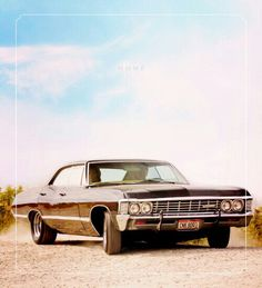 I was never a car person before supernatural.but now all I want is a classic 67 Impala. Supernatural Impala, Supernatural Fandom, Castiel, Supernatural Imagines, 1967 Chevy Impala, 67 Impala, Sports Sedan, Bobby Singer, Super Natural