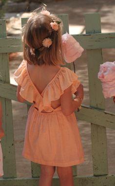 Louise Misha — Robe Paillette Corail