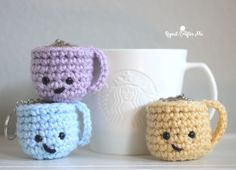 Coffee Keychains by Repeat Crafter Me