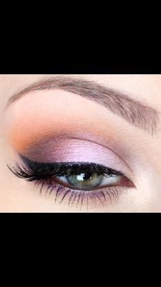 Wedding Makeup but maybe light purple to match my colors.