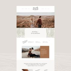 Boho Aztec wedding photographer, captures travels and elopements, moody earthy photos, loose hand-lettering, modern, simple and authentic logo design, web design, woodsy,