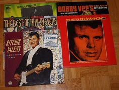 6x 12  Vinyl Collection ROCK N ROLL - RITCHIE VALENS / RAY STEVENS / BOBBY VEE