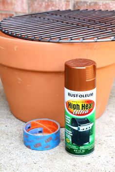 how to make a charcoal grill from a terracotta pot