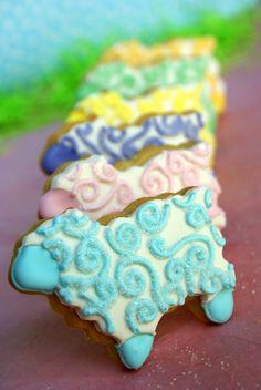"Pink Martinis and Pearls: ""Sweet Embraceable Ewe"" Cookies"