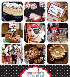 Pirate Party  Pirate Birthday Printable by AmandasPartiesToGo
